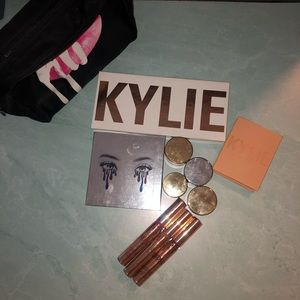 Kyle Cosmetics Bundle! Bag included